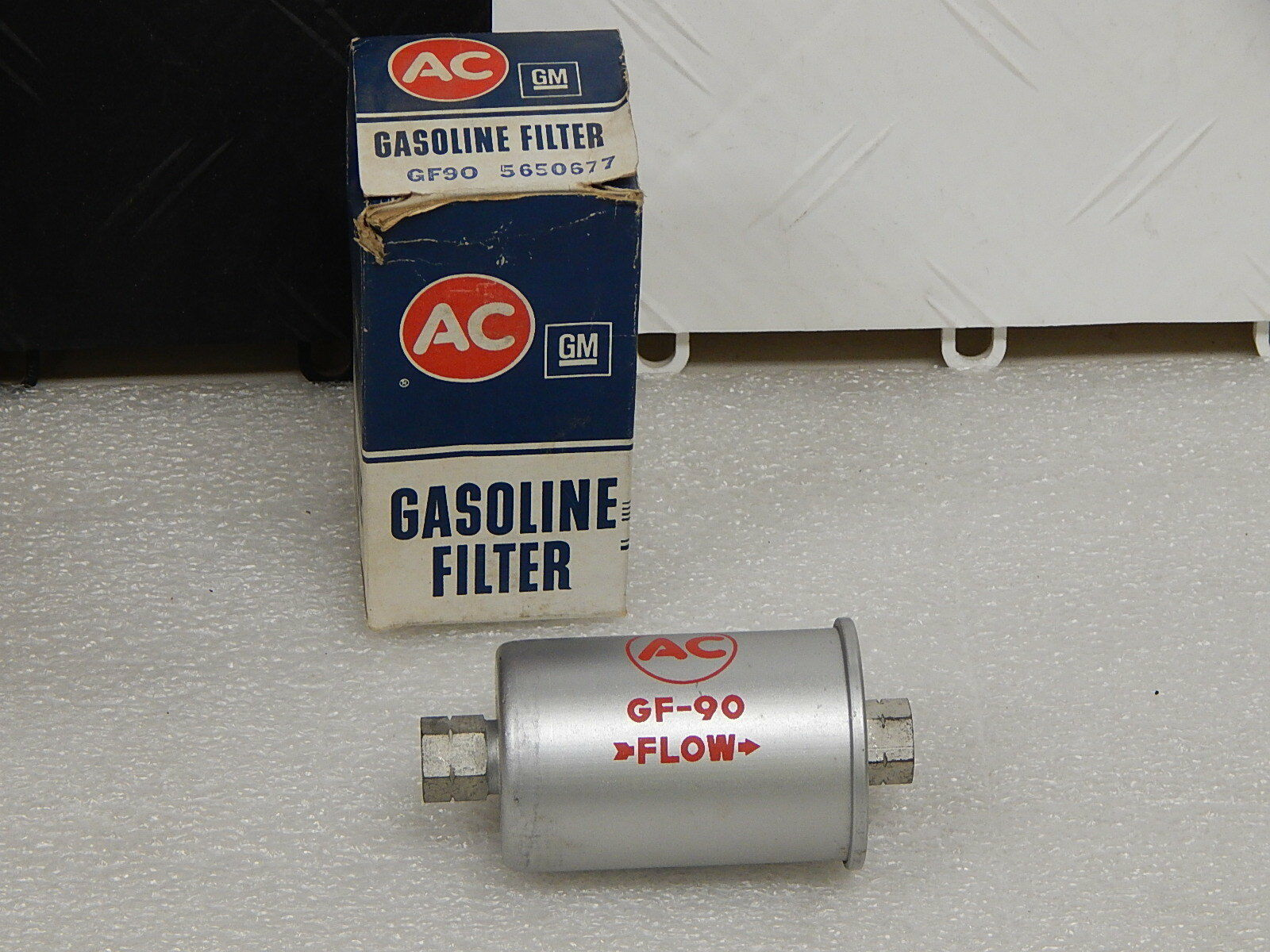 Nos Ac Delco Gf90 Fuel Filter 1962 65 Corvette Argent Silver Ebay 1973 Mustang Norton Secured Powered By Verisign