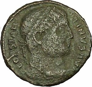 Constantine-I-the-Great-326AD-Ancient-Roman-Coin-Military-camp-gate-i40296