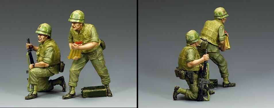 KING AND COUNTRY Vietnam War - Duster Add-On Crew VN042