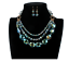 Ladies-Fashion-Crystal-Pendant-Choker-Chain-Statement-Chain-Bib-Necklace-Jewelry thumbnail 7