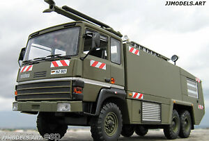 IXO-Altaya-THOMAS-VMA-72-FIRE-TRUCK-AIRPORT-034-MILITARY-VERSION-034-in-1-43-Scale
