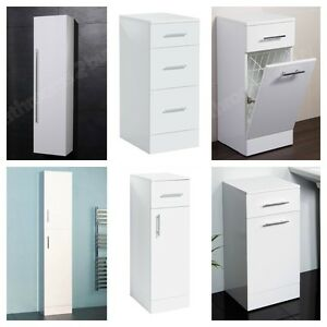 of modern white bathroom storage units cabinets amp cupboards drawers