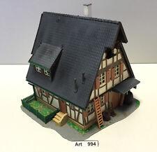 Kibri B-8432 H0 Fachwerkhaus,leicht gesupert,gealtert,patiniert,Diorama 1:87,RAR