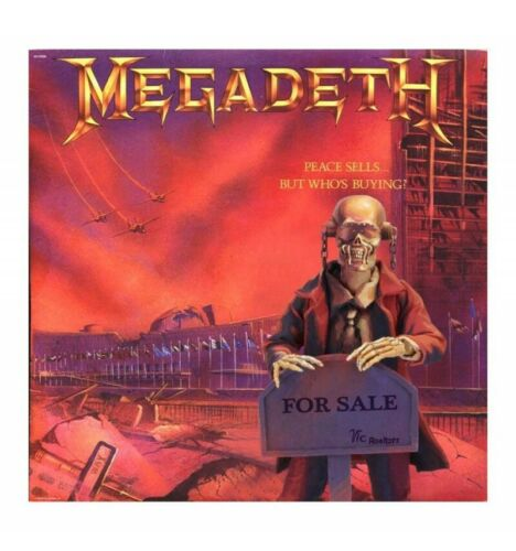 "but who´s buying/"" Megadeth figurine Retro /""Peace sells.. Neca 20 cm"