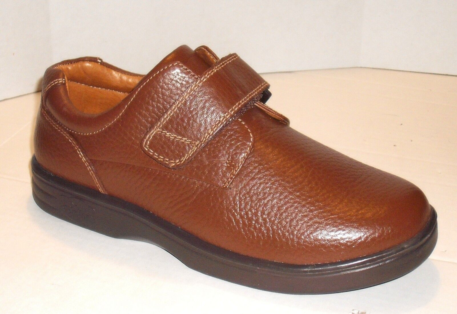 DR COMFORT Womens MAGGY BROWN LEATHER  Diabetic SHOE 8 W