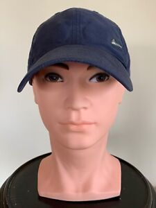 * NIKE * Mens Navy Blue Baseball Cap Summer Hat Silver Tick Adjustable One Size