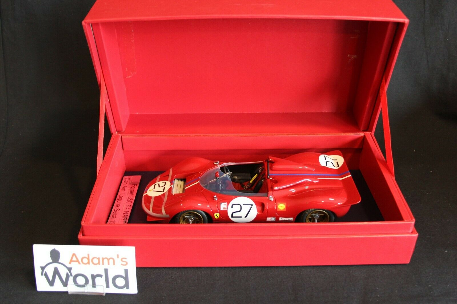 PT-models Ferrari 350 P4 Can Am 1967 1 18 Jonathan Williams (GBR) (PJBB)