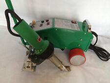Intelligent PVC Flex Banner Seam Welding Machine with Leister Heat gun 110v US