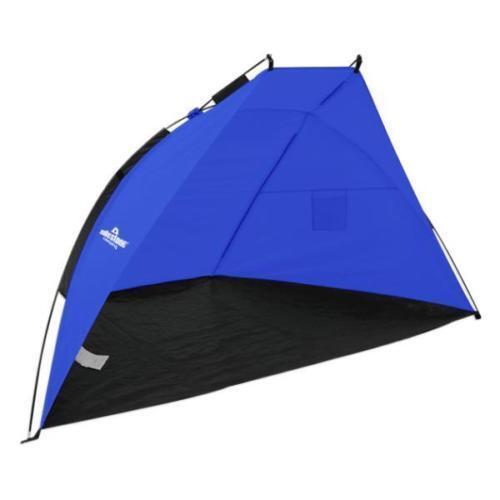 Beach Tente Bleu Rain Rain Rain & Sun Protection Abat-jour Festival Abri Camping pêche Nouveau e87042