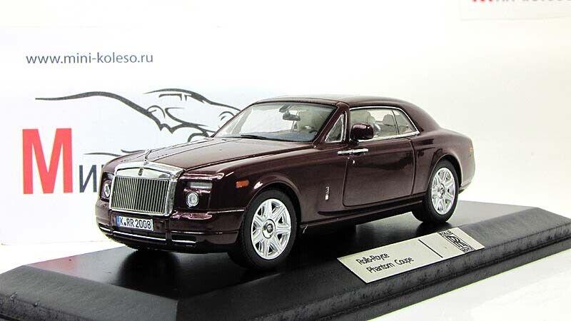 Scale car 1 43, Rolls-Royce Phantom Coupe, 2008
