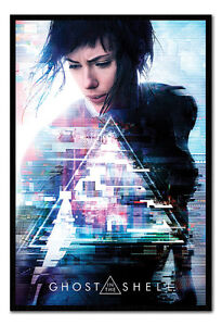 Framed-Ghost-In-The-Shell-One-Sheet-Poster-New