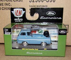 M2 Machines Auto Thentics Release 60 1:64 1965 Ford Econoline Van