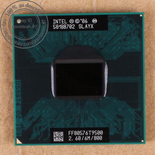 1 von 1 - Intel Core 2 Duo T9500 - 2.6 GHz (FF80576GG0646M) SLAYX SLAQH CPU 800 MHz