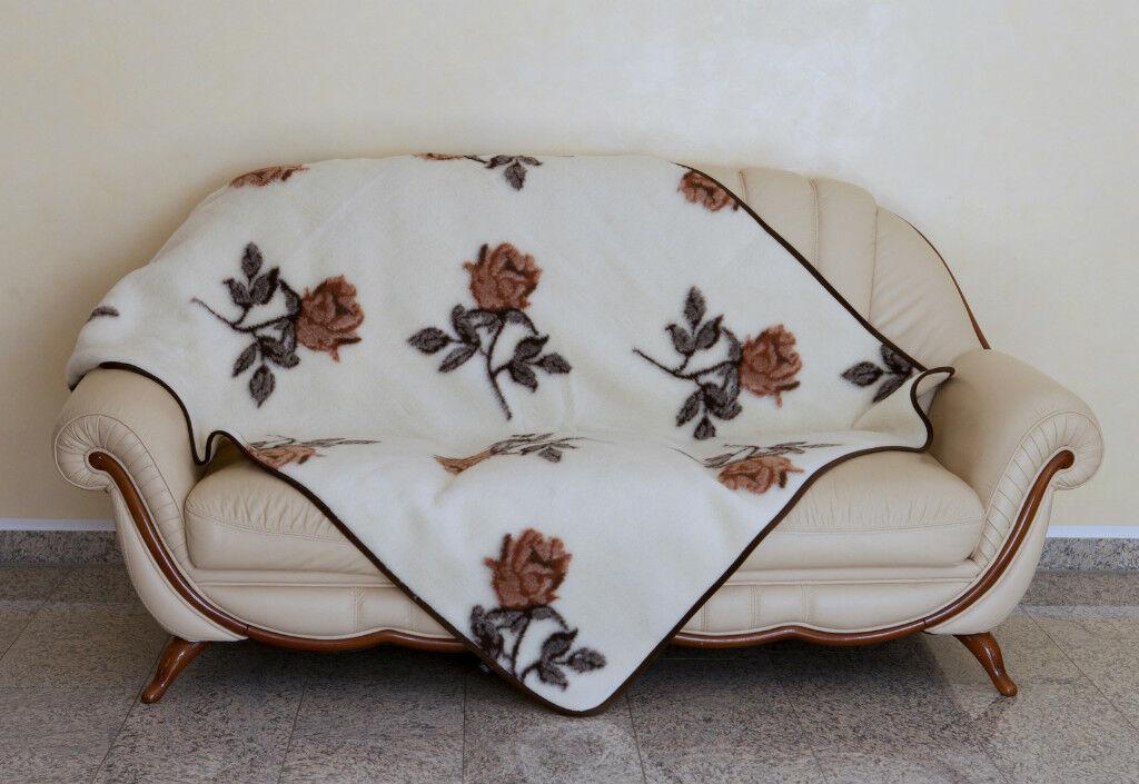 Duvet DOUBLE Virgin Wool Wool Blanket From 100% Merino Wool, Made in Germany