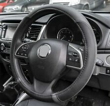 Streetwize Luxury Steering Wheel Cover Grey & Black Universal Fit Protection