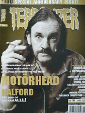 TERRORIZER 100 - MOTORHEAD - ROB HALFORD