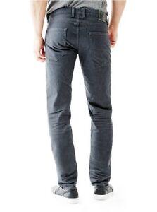 Wash Elasticizzato Metal 31 In Slim Taglia Jeans Denim Dritto Uomo Guess Grigio Wq08AP
