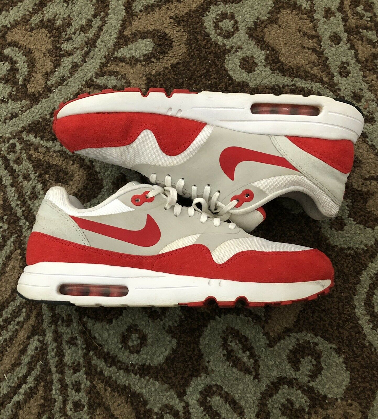 Gemidos Una vez más arrastrar  Nike Air Max Day 1 Ultra 2.0 Le 3.26 Am1 Red White Men Size 11 for sale  online | eBay