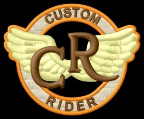 Custom Rider iron-on Aufnäher patch