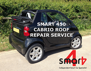 Smart Fortwo Cabrio Roof Folding Soft Top Repair Service Ebay Rh Ebay Co Uk  Smart Passion Cabriolet Lamborghini Smart Car