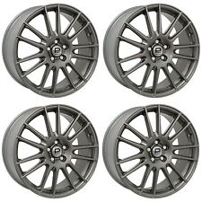 "4 x Pro Drive Gloss Anthracite GT1 Alloy Wheels - 5x100 | 18x7.5"" | ET53"