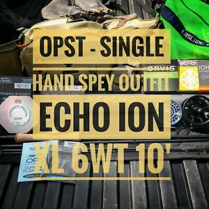 Echo-Ion-XL-6wt-10-039-Single-Hand-Spey-OPST-Fly-Rod-Outfit-Free-Shipping