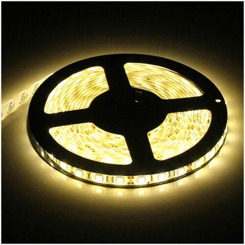 Bright 5M 16.4ft 12V 3528 5050 5630 RGB SMD 300 LEDs Flexible Strip light Lamp