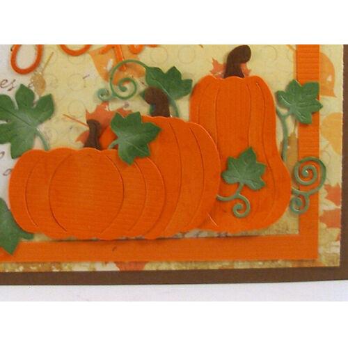 Halloween Metal Cutting Dies Stencil Scrapbooking Paper Card Crafts Embossing