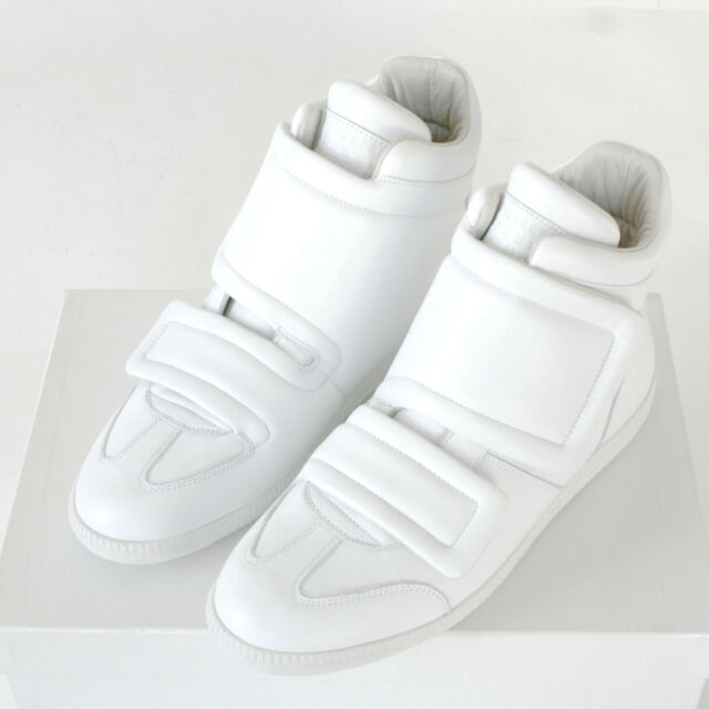 01ed94dbbaa1 MAISON MARTIN MARGIELA hi-top double strap shoes future clinic sneakers  41 8 NEW