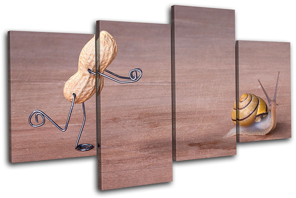 Peanut man Comedy  Food Kitchen MULTI TELA TELA TELA parete arte foto stampa 8a1649