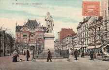 CPA BELGIQUE BELGIUM BRUXELLES 51 anneessens timbrée