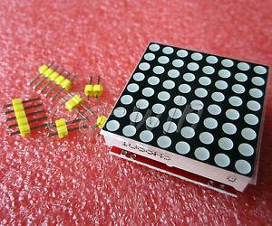 2pcs-Red-MAX7219-dot-matrix-module-Arduino-microcontroller-module