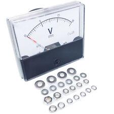 Us Stock Analog Panel Volt Voltage Meter Voltmeter Gauge Dh 670 0 15v Dc