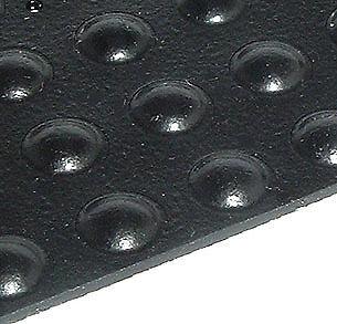 "SAMPLE 8 SELF ADHESIVE RUBBER FEET BUMPERS 0.7/""x0.38/"" ROUND BLACK BUMPER FEET"