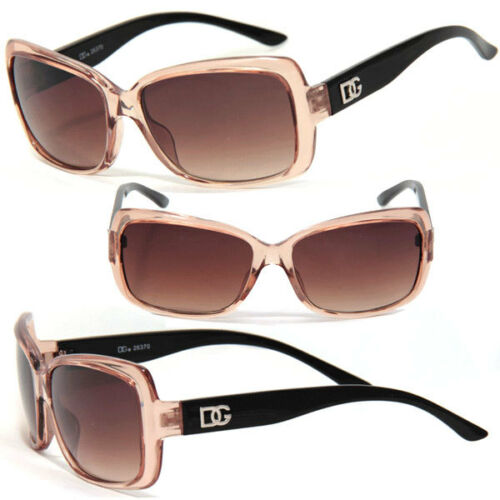 Brn DG 131 T New Gorgeous Womens DG Sunglasses w// Free Pouch