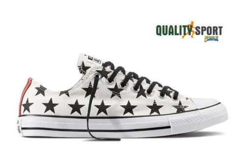 Scarpe Sneakers Stelle Sportive Bianco 156823c Unisex Star Converse All qwTpXXB