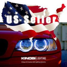 New BMW M3 E46 E36 E38 E39 White 7000K LED Halo-Angel Eye XENON kit Buy It!