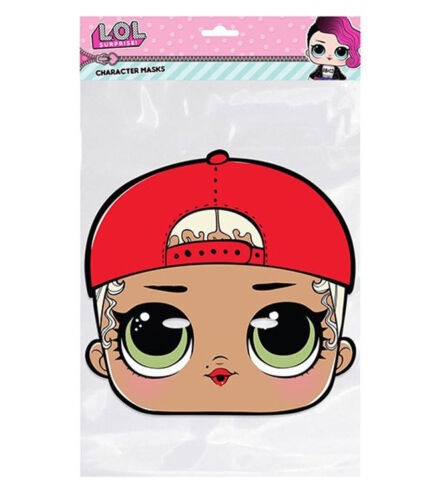 C.Swag LOL Surprise Single 2D Card Party Face Mask M MC Swag Great party fun