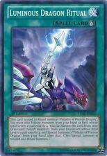 Yu-Gi-Oh LVAL-EN062 Luminous Dragon Ritual Common X3 Playset 1st Edition