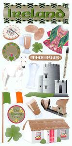 Ireland-Stickers-Claddagh-Bodhran-Guinness-Four-leaf-Clover-Irish-Flag