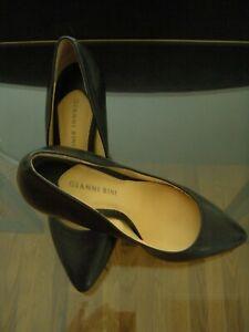 Gianni-Bini-Heels-Pumps-Black-Shoes-Womens-Size-7-5-M