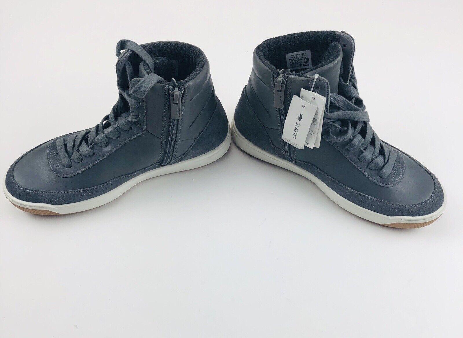 NUOVO   160 Lacoste donna Explorateur Calf e Suede Fashion scarpe da ginnastica Sz 6.5  presentando tutte le ultime tendenze della moda