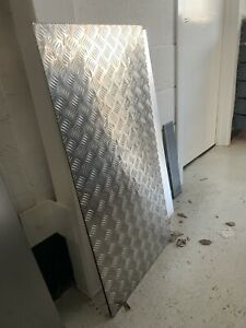 4.5mm aluminium chequer plate 500X1000mm Large Sheet Of Metal door protect