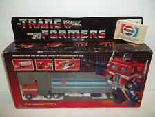 1984 Transformers G1 **OPTIMUS PRIME** MISB Tape Sealed Both Sides AFA Worthy