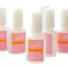 10g Women's Nail Art Glue With Brush On Strong Adhesive Fake Acrylic False Tip H