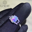 Natural Opel Gemstone 7x9 mm Solid 925 Sterling Silver Women Rings