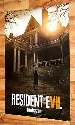 Resident Evil 7 Biohazard Rare Large Poster 91x61cm Ps4 Xbox One