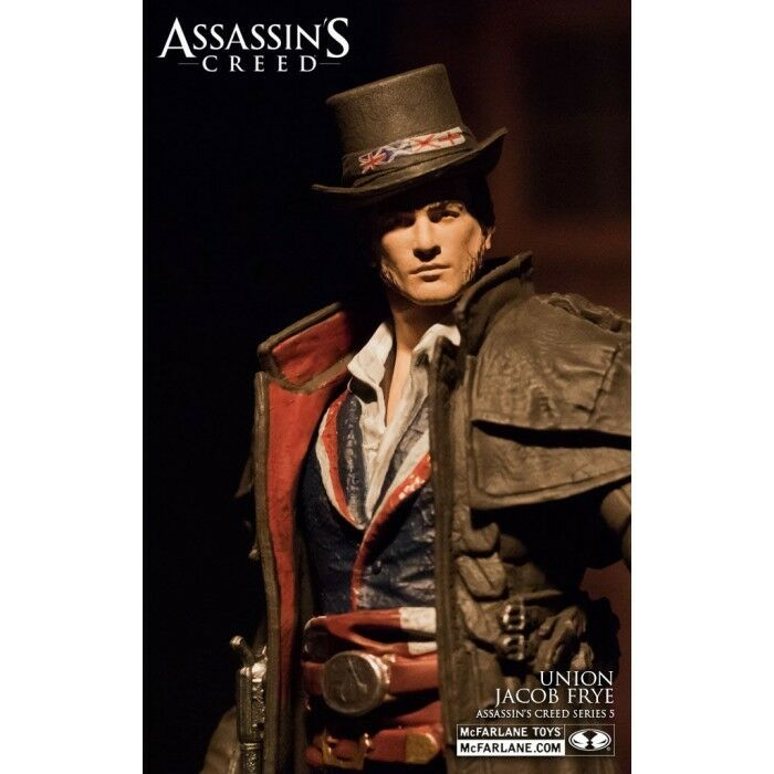 Mcfarlane assassin 's creed serie 5 union jacob frye action - figur.