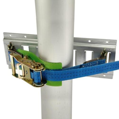 Gasflaschenhalter 35 cm Länge zur Ladungssicherung mit Schutzgewebe Neue Ausf.