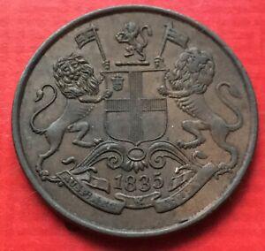 India-East-India-Company-1-4-Anna-1835-ef-2